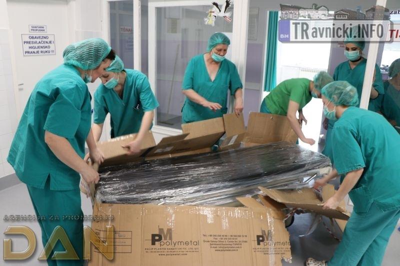 Pristigla donacija iz Turske, u petak otvorenje porođajnog odjela (FOTO)