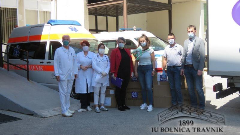 Kompanija Violeta uručila donaciju za JU Bolnica Travnik