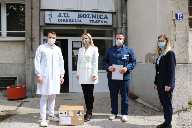 Kompanija Alma Ras donirala respirator našoj zdravstvenoj ustanovi