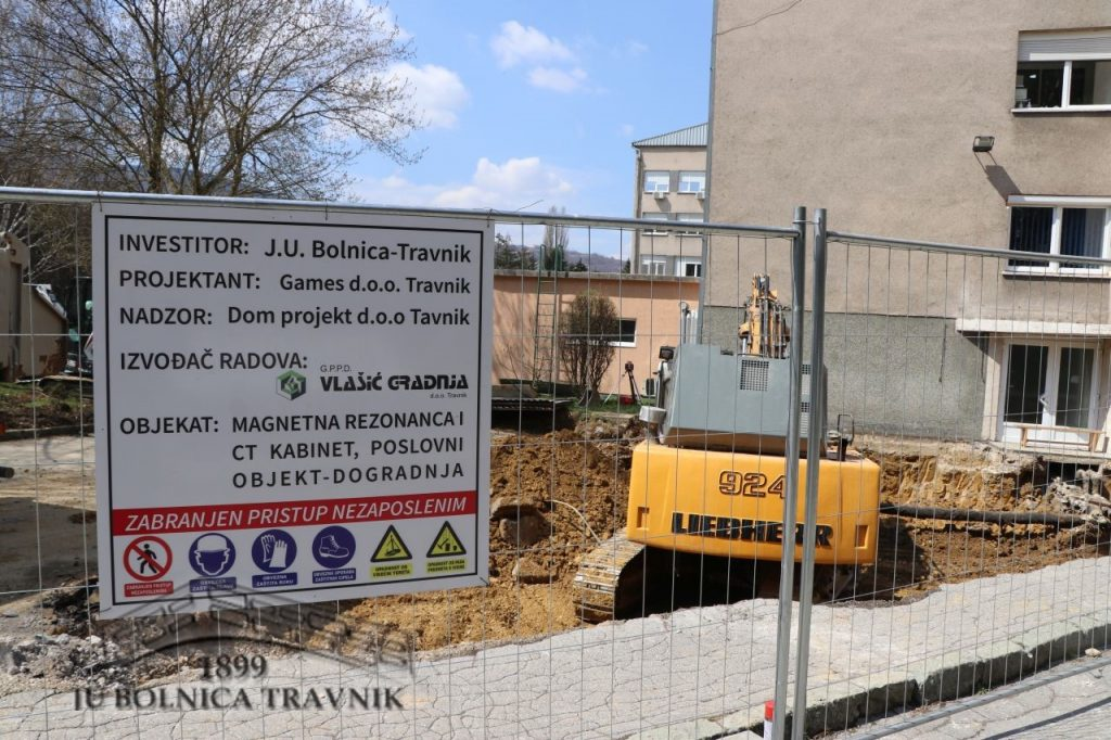 Započeli smo za izgradnjom novog odjela bolnice